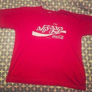 """Best Fashion Prince"" vintage 1980s Coke T-shirt"